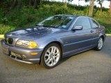 2001 Steel Blue Metallic BMW 3 Series 330i Coupe #37896444