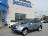 2009 Glacier Blue Metallic Honda CR-V EX-L 4WD #37896100