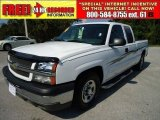 2004 Summit White Chevrolet Silverado 1500 LS Extended Cab #37896710