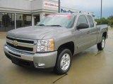 2009 Graystone Metallic Chevrolet Silverado 1500 LT Extended Cab #37896480