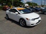 2007 Taffeta White Honda Civic LX Coupe #37896732