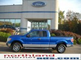 2010 Blue Flame Metallic Ford F150 XLT SuperCab 4x4 #37896153