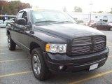 2003 Black Dodge Ram 1500 SLT Quad Cab 4x4 #37896535