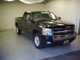2007 Black Chevrolet Silverado 1500 LT Z71 Extended Cab 4x4 #37896542