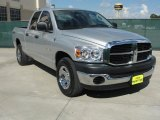 2008 Bright Silver Metallic Dodge Ram 1500 SXT Quad Cab #37896351