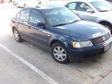 2000 Indigo Blue Pearl Metallic Volkswagen Passat GLS V6 Sedan #37897167