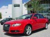 2008 Brilliant Red Audi A4 2.0T Special Edition Sedan #375487