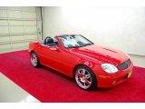 2001 Magma Red Mercedes-Benz SLK 320 Roadster #37945836