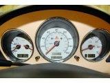 2001 Mercedes-Benz SLK 320 Roadster Gauges