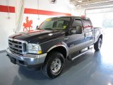 2004 Medium Wedgewood Blue Metallic Ford F250 Super Duty Lariat Crew Cab 4x4 #37945611