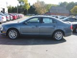 2011 Steel Blue Metallic Ford Fusion SEL V6 #37946088