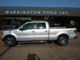 2010 Ingot Silver Metallic Ford F150 Lariat SuperCrew 4x4 #37946097