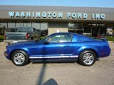 2005 Sonic Blue Metallic Ford Mustang V6 Premium Coupe #37946099