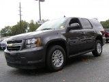 2010 Taupe Gray Metallic Chevrolet Tahoe Hybrid 4x4 #37945626