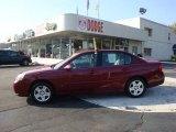 2007 Sport Red Metallic Chevrolet Malibu LT Sedan #37946130