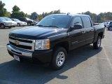 2011 Black Chevrolet Silverado 1500 LS Crew Cab #37946374