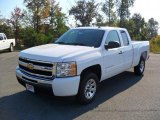 2011 Summit White Chevrolet Silverado 1500 LT Extended Cab #37946378