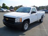 2011 Summit White Chevrolet Silverado 1500 Regular Cab #37946387