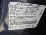 2003 F250 Super Duty Color Code for True Blue Metallic - Color Code: L2