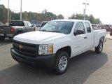 2011 Summit White Chevrolet Silverado 1500 Extended Cab #37946389
