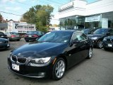 2008 Jet Black BMW 3 Series 328xi Coupe #37945723