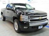 2007 Black Chevrolet Silverado 1500 LT Z71 Extended Cab 4x4 #37946230