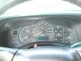 2002 Chevrolet Silverado 1500 LS Extended Cab 4x4 Gauges