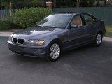 2005 Steel Blue Metallic BMW 3 Series 325i Sedan #37945783