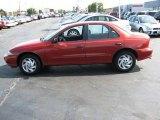 1998 Cayenne Red Metallic Chevrolet Cavalier Sedan #3796493