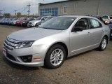 2011 Ingot Silver Metallic Ford Fusion S #37945802