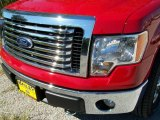 2010 Vermillion Red Ford F150 XLT SuperCrew 4x4 #37945810