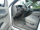 2007 Dodge Ram 3500 Big Horn Quad Cab Dually Khaki Interior