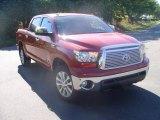 2011 Barcelona Red Metallic Toyota Tundra Platinum CrewMax 4x4 #38010293