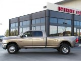 2010 Austin Tan Pearl Dodge Ram 3500 Big Horn Edition Crew Cab 4x4 Dually #38010300