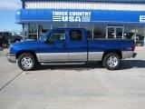 2004 Arrival Blue Metallic Chevrolet Silverado 1500 Z71 Extended Cab 4x4 #38010308