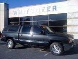 2005 Dark Gray Metallic Chevrolet Silverado 1500 Z71 Crew Cab 4x4 #38010319