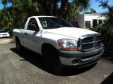 2006 Bright White Dodge Ram 1500 ST Regular Cab #38009629