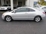 2007 Alabaster Silver Metallic Honda Civic EX Coupe #38010408
