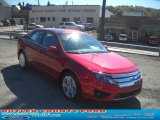 2011 Red Candy Metallic Ford Fusion SE #38009894