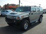 2003 Pewter Metallic Hummer H2 SUV #38010432