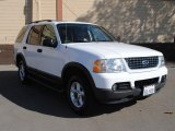 2003 Oxford White Ford Explorer XLT 4x4 #38010442