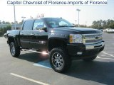 2011 Black Chevrolet Silverado 1500 LT Crew Cab 4x4 #38010446
