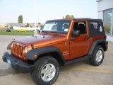 2011 Mango Tango Pearl Jeep Wrangler Sport S 4x4 #38009913