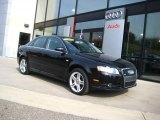 2008 Brilliant Black Audi A4 2.0T quattro S-Line Sedan #38009926