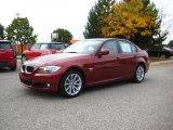2011 Vermillion Red Metallic BMW 3 Series 328i xDrive Sedan #38009932