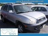 2003 Pewter Hyundai Santa Fe I4 #38009945