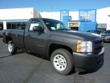 2011 Taupe Gray Metallic Chevrolet Silverado 1500 Regular Cab #38009955