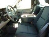 2011 Chevrolet Silverado 1500 LS Regular Cab 4x4 Dark Titanium Interior