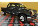 2004 Black Chevrolet Silverado 1500 LS Extended Cab 4x4 #38010262