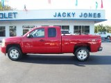 2011 Victory Red Chevrolet Silverado 1500 LT Extended Cab 4x4 #38010283